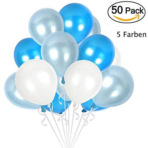 WNXa-C 50 x Luftballons Metallic für die Meisten -