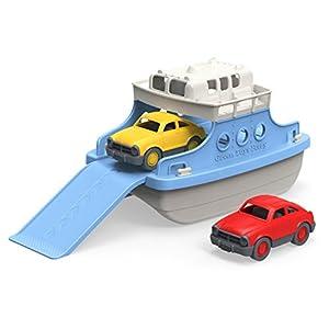 Green Toys FRBA-1038 - Fähre mit Fahrzeugen