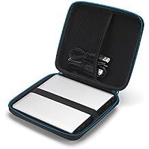 Cubierta de la caja del bolsillo caso Supremery universal EVA cubierta dura de la Bolsa de duros externos portátiles, CD DVD BD Burner, unidades Blu-ray 3D, SuperDrive de Apple MD564ZM / Magic Trackpad / SE 208 GB / ASUS etc.