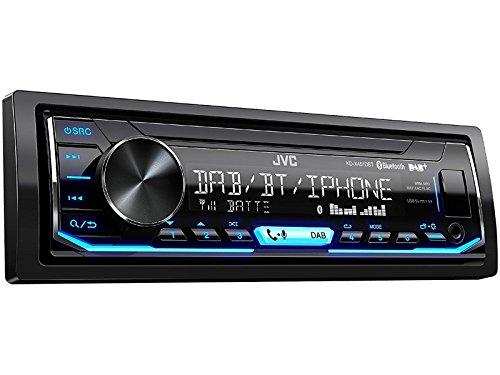 JVC Radio KDX451DBT DAB+ Bluetooth mit Einbauset für VW Polo 9N bis 2009 mit ISO