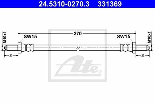 ATE 24813405471 Bremsrohrleitung 4,75 mm