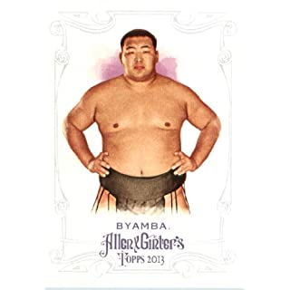 2013 Topps Allen and Ginter Trading Card # 21 Byamba Sumo Wrestler