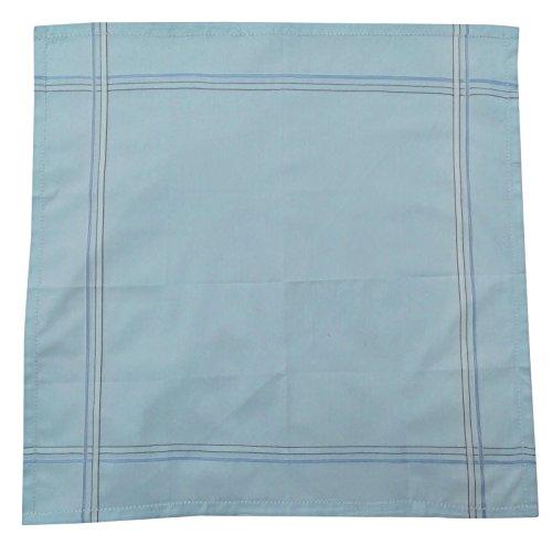Mouchoir de poche carrée coton à rayures Mouchoirs Accessoires pour hommes - Choisissez Paquet Multicolore