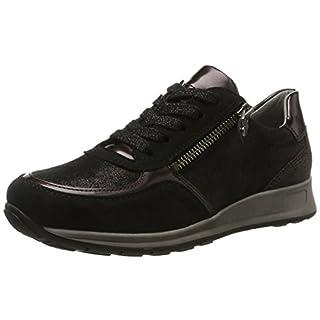 ara Osaka, Damen Sneaker, Schwarz (Schwarz,Piombo/Lava), 38 EU (5 UK)