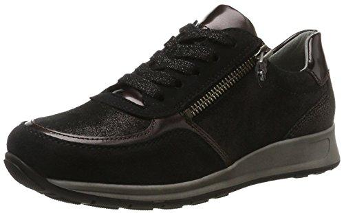 ara Osaka, Damen Sneaker, Schwarz (Schwarz,Piombo/Lava), 38.5 EU (5.5 UK)