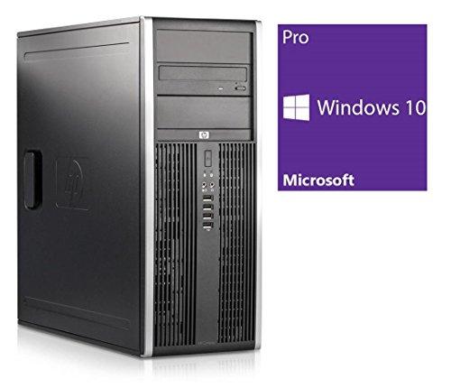 Refurbished Office PC | HP Elite 8200 CMT | Intel Core i5-2400 @ 3,1 GHz | 4GB DDR3 RAM | 250GB HDD | DVD-ROM | Windows 10 Pro vorinstalliert (Zertifiziert und Generalüberholt)