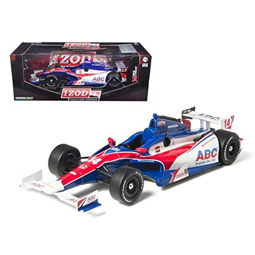 2012 Izod Indy 500 Mike Conway #14 ABC Supply Racing 1/18 Diecast Model Car by Greenlight (Car Indy Diecast)
