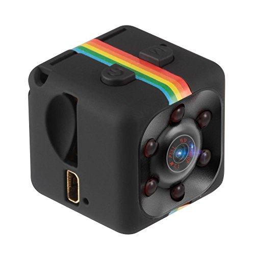 SturdCelle SQ11 Mini Kamera HD 1080P Infrarot Videokamera mit Nachtsicht Infrarot Video, Schwarz - 4000 Sjcam Wifi