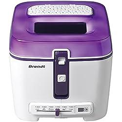 Brandt - Friteuse Classique 2.5L 1.2KG Violette