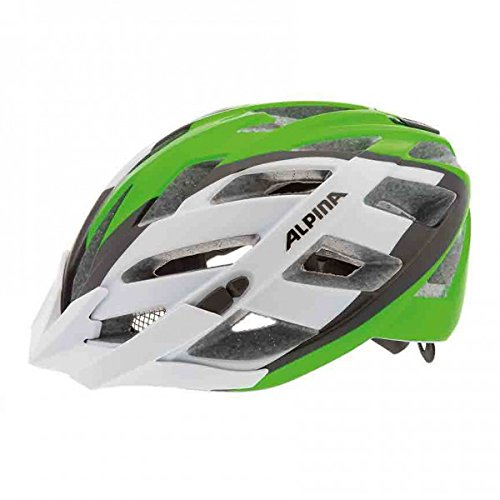 ALPINA Radhelm Panoma L.E, White-Green-Black, 52-57, A9673.1.72