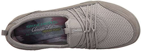 Skechers Womens Empress Fashion Sneaker Grey