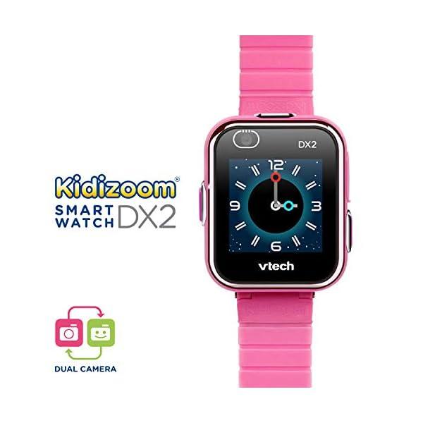 VTech 3480-193822 Kidizoom Smart Watch DX2 - Reloj inteligente para niños con doble cámara, color azul 2