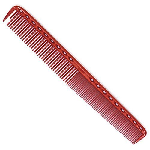 Young Park Haarschneidekamm Nr. 335, Farbe rot, 21,5 cm lang, fe