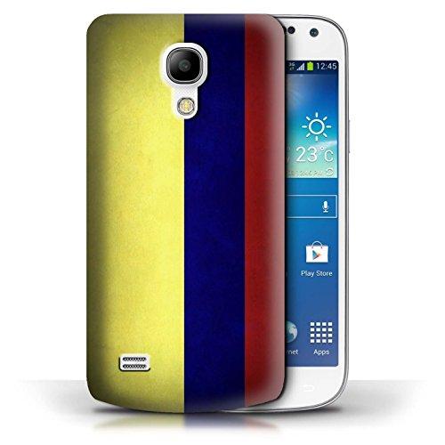 Etui / Coque pour Samsung Galaxy S4 Mini / Columbia/Colombie conception / Collection de Drapeau Columbia/Colombie
