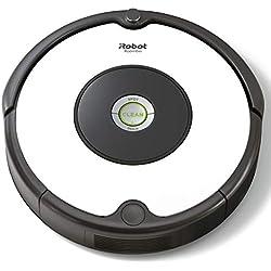 1 de iRobot Roomba 605- Robot aspirador para suelos duros y alfombras, con tecnología Dirt Detect, sistema de limpieza en 3 fases