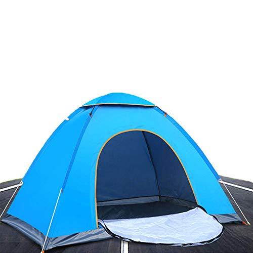 Hanbaili automatisches Pop-up-Campingzelt,tragbares Klappzelt Outdoor-Wandern Strand Picknickzelt für 2 Personen