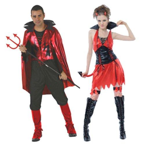 Atosa 8422259700227- Costume da diavolo Adulto