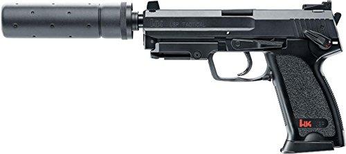 Heckler & Koch USP Tactical Softair / Airsoft AEP inkl. Akku, Lader & Silencer < 0,5 J. [2.5976]#14