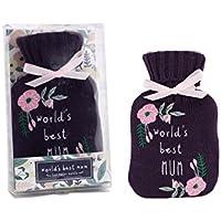 CGB GiftwareWorlds Best Mum Wärmflasche und gestrickte Abdeckung preisvergleich bei billige-tabletten.eu