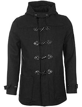 Lambretta trenca chaqueta para hombre color negro chaquetas abrigos Outerwear, gris oscuro, large