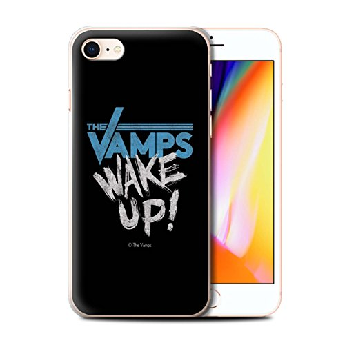 Offiziell The Vamps Hülle / Case für Apple iPhone 8 / Pack 6pcs Muster / The Vamps Graffiti Band Logo Kollektion Aufwachen!