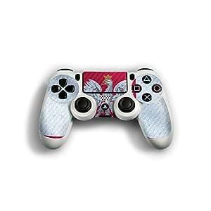 "Sony Playstation 4 Controller Designfolie ""Polen Flagge"" Skin Aufkleber für Playstation 4 Controller (PS4)"
