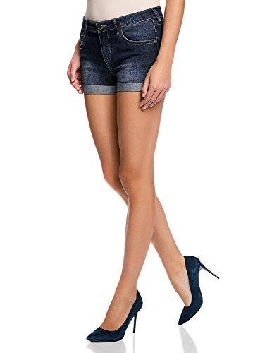 da donna denim lavato taglie 38-48 Pantaloncini elasticizzati