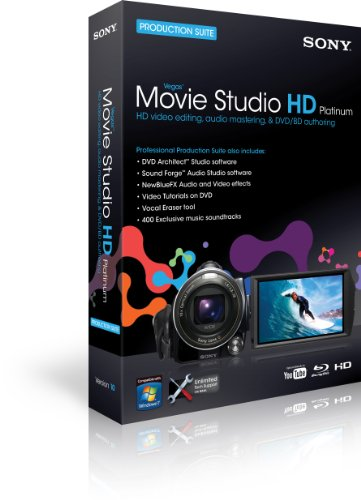 Sony Movie Studio HD Platinum Suite Education [Import]