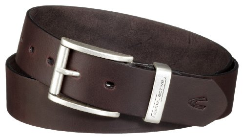 camel active 402660/9B66 - Herren Gürtel,Braun (Dark Brown) M -