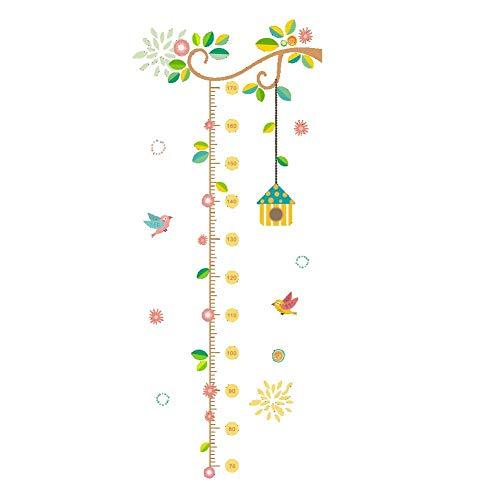 Stammbaum Höhe Maßnahme Kinderzimmer Vögel Wachstum Chart Home Wandtattoos Wandbilder Poster Kinderzimmer Dekor Wandaufkleber a76 wangzhanping