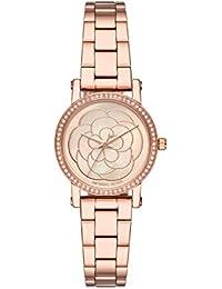 Michael Kors Reloj Analógico para Mujer de Cuarzo con Correa en Acero Inoxidable MK3892