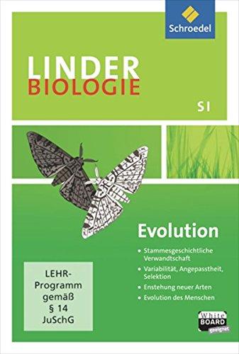 LINDER Biologie SI / Lernsoftware: LINDER Biologie SI: Evolution: Einzelplatzlizenz