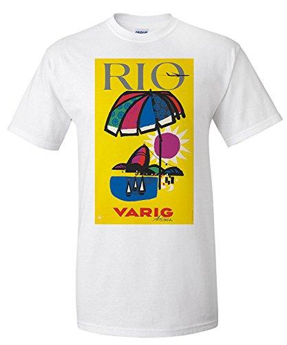varig-rio-vintage-poster-artist-anonymous-brazil-c-1955-premium-t-shirt