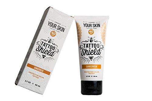 Pommade Tattoo Shield 80ml - Crème solaire pour...