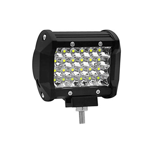 Preisvergleich Produktbild Uonlytech 72W LED-Scheinwerferlampe 4 Reihen SMD LED-Nebelscheinwerfer DRL für Auto oder Motor