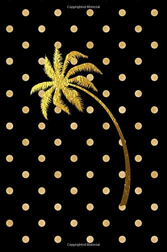 Polka Dot Paradise: (6X9) Dot Grid Palm Tree Notebook Journal Composition Book for People who Love Pineapples, Hawaii, the Beach, Tropical Locations, ... a Tropical Vacation (Paradise Vibes, Band 34) - 34 Vibe
