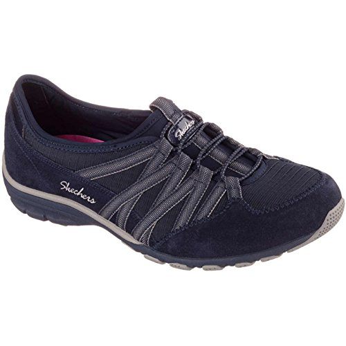 Skechers Conversations, Baskets Basses Femme Navy/Gray-NVGY