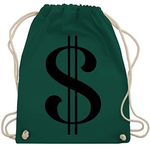 - Dollar Kostüm - Unisize - Dunkelgrün - WM110 - Turnbeutel & Gym Bag ()