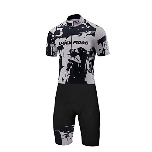 adsport Bekleidung Herren Summer Style Skinsuit with Gel Pad #01 (Tuxedo Skin Suit)