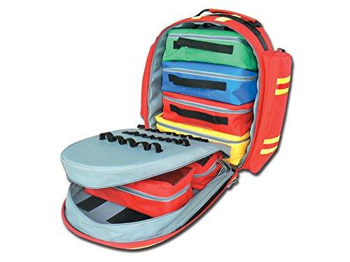 GiMa logic-2Rucksack, 40cm l x 25cm B x 47cm H, rot, Notfall, Trauma, Rescue, medical, Erste Hilfe, Krankenschwester, Paramedic Multi Pocket Tasche