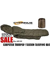 Carpstar Trooper - Saco de Dormir para Pesca de Carpas
