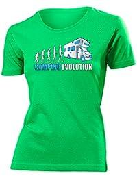 CAMPING EVOLUTION T-Shirt Damen S-XXL