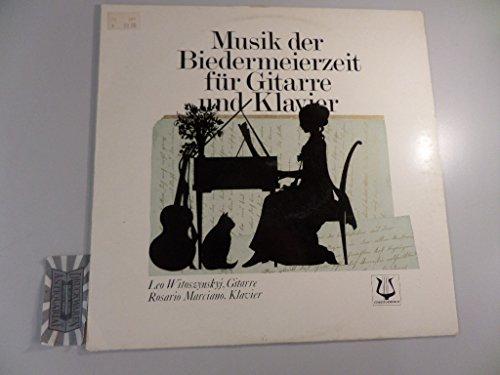 Musik der Biedermeierzeit für Gitarre und Klavier [Vinyl-LP/SCGLV73841].