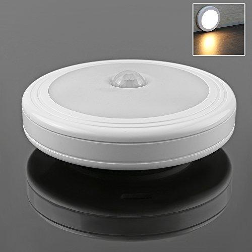 TiooDre Bewegungsmelder, PIR-Bewegungssensor, LED-Unterbauleuchte ohne Kabel Night Light Stick mit...