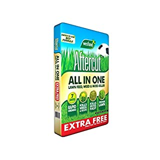 Westland Aftercut All in One Lawn Feed and Moss Killer 400m2 + 10% free - 14kg Bag