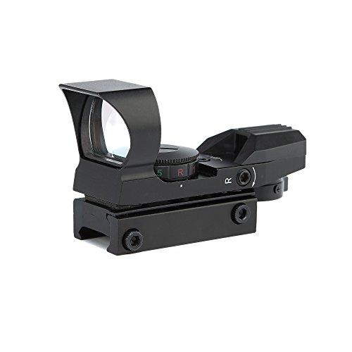 Spike Tactical Scope Pistole Gewehr Schrotflinte Red & Green Punkt-Anblick Multi- Absehen Reflex Scope Airsoft Jagd