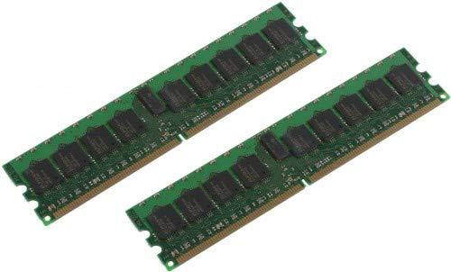 MicroMemory Speichermodul 4-GB-Kit DDR2 400 MHz ECC/REG (4 GB, 2 x 2 GB, DDR2, 400 MHz) -