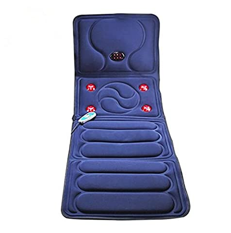 Siège de massage shiatsu Voiture Coussin de siège Vibrant Massager pour le dos les épaules et les cuisses avec Therapy Therapy Massage détendent Sooth et relâchent la