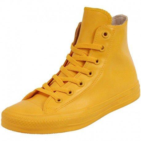 Converse All Star Rubber Damen Stiefel/Boots Gelb