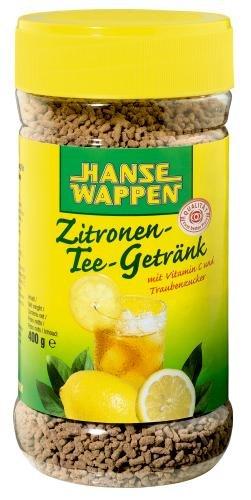 Hansewappen Zitronen-Tee-Getränk, 6er Pack (6 x 400 g Dose)
